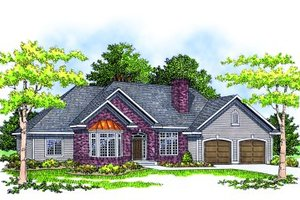 Traditional Exterior - Front Elevation Plan #70-236