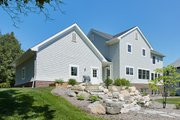 Colonial Style House Plan - 4 Beds 2.5 Baths 2608 Sq/Ft Plan #928-289 Exterior - Rear Elevation