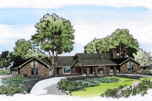 Traditional Exterior - Front Elevation Plan #312-107