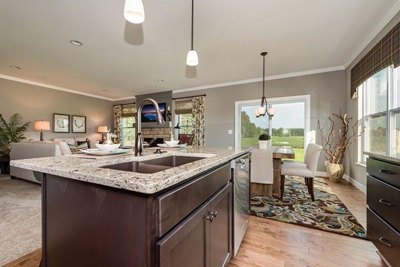 Craftsman Interior - Kitchen Plan #20-2154 - Houseplans.com