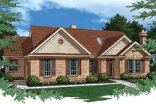 Dream House Plan - Craftsman Exterior - Front Elevation Plan #48-287