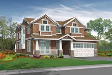Craftsman Exterior - Front Elevation Plan #132-444