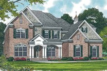 House Plan Design - Traditional Exterior - Front Elevation Plan #453-304