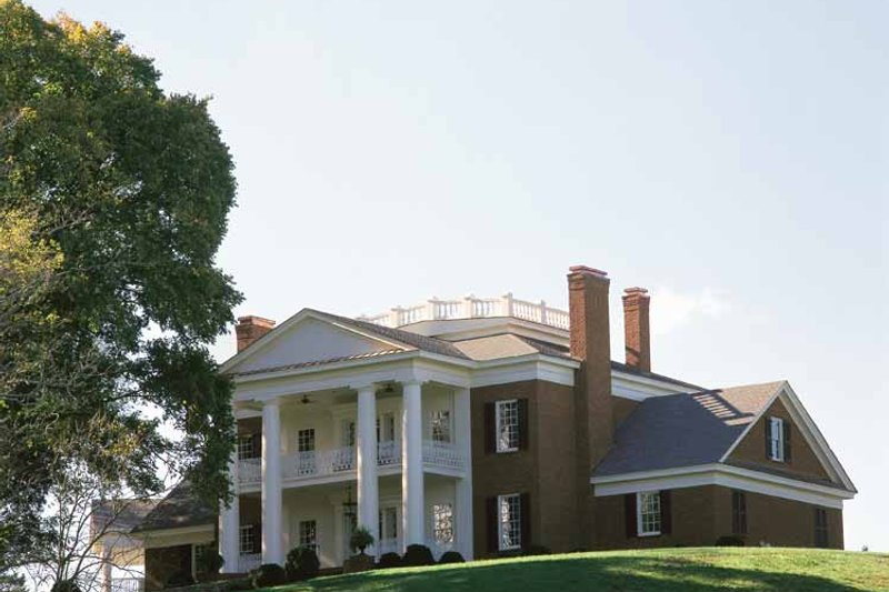 Classical Exterior - Front Elevation Plan #137-307 - Houseplans.com