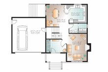 Country Floor Plan - Main Floor Plan Plan #23-2543