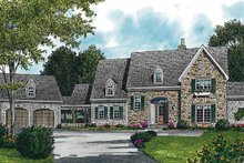 Home Plan - Country Exterior - Front Elevation Plan #453-227