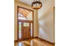 Craftsman Interior - Entry Plan #124-988