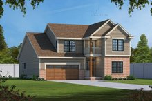 Dream House Plan - Traditional Exterior - Front Elevation Plan #20-1713