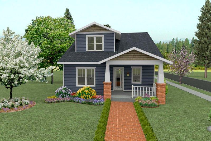 Craftsman Style House Plan - 4 Beds 3.5 Baths 2555 Sq/Ft Plan #461-41