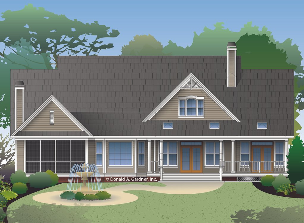 Ranch style house plan 4 beds 3 baths 2484 sq ft plan for Weinmaster house plans