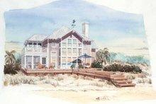 Craftsman Exterior - Rear Elevation Plan #429-194