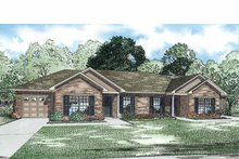 Architectural House Design - Traditional Exterior - Front Elevation Plan #17-3334