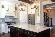 Country Style House Plan - 4 Beds 3.5 Baths 2867 Sq/Ft Plan #437-80