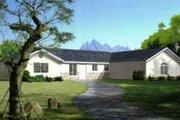 Adobe / Southwestern Style House Plan - 3 Beds 2 Baths 1795 Sq/Ft Plan #1-1352