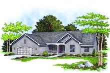 Dream House Plan - Traditional Exterior - Front Elevation Plan #70-331