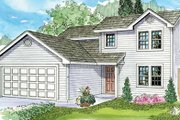 Farmhouse Style House Plan - 4 Beds 2.5 Baths 1471 Sq/Ft Plan #124-770 Exterior - Front Elevation