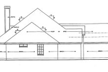 House Plan Design - Ranch Exterior - Other Elevation Plan #42-514
