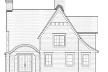 Craftsman Exterior - Rear Elevation Plan #928-245