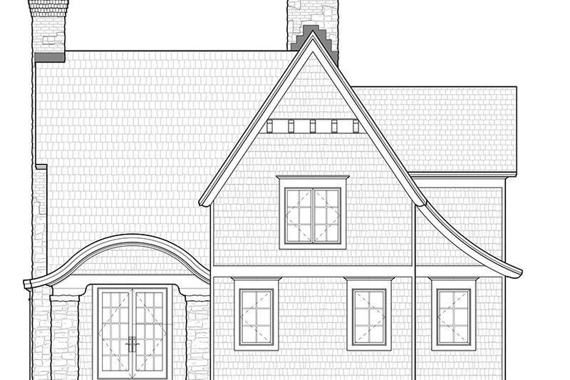 Craftsman Exterior - Rear Elevation Plan #928-245 - Houseplans.com