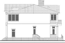 Colonial Exterior - Other Elevation Plan #1058-82