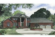 Architectural House Design - Classical Exterior - Front Elevation Plan #17-2769