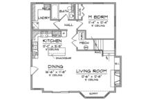 Craftsman Floor Plan - Other Floor Plan Plan #981-17