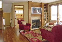 Craftsman Interior - Family Room Plan #320-997