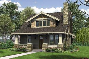 Dream House Plan - Bungalow Exterior - Front Elevation Plan #48-646