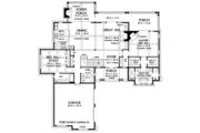 European Style House Plan - 4 Beds 4.5 Baths 3608 Sq/Ft Plan #929-975 Floor Plan - Main Floor