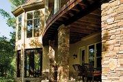 European Style House Plan - 3 Beds 3.5 Baths 3874 Sq/Ft Plan #929-929 Exterior - Rear Elevation