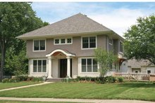 Architectural House Design - Colonial Exterior - Front Elevation Plan #928-220