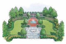 Traditional Exterior - Front Elevation Plan #1040-44