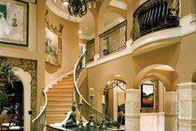 Architectural House Design - Mediterranean Interior - Entry Plan #453-383