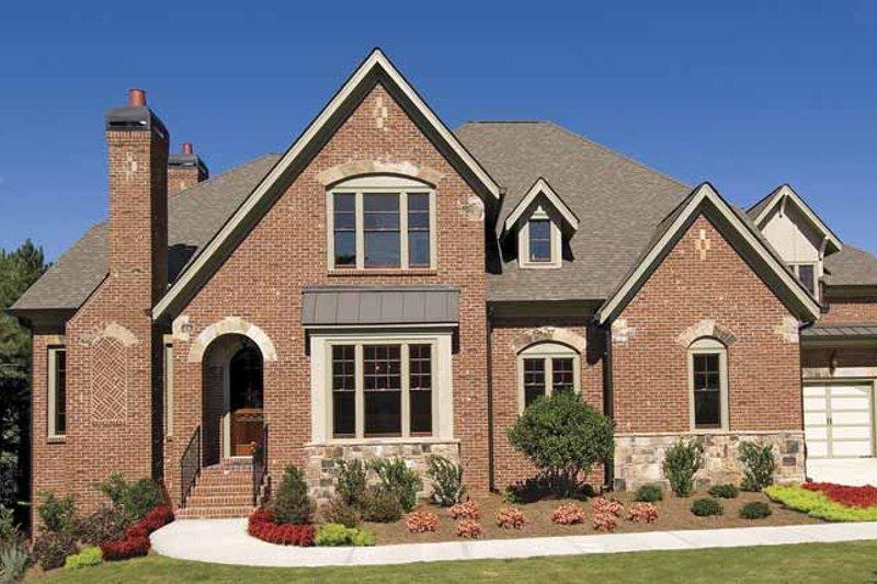 Dream House Plan - European Exterior - Front Elevation Plan #54-308