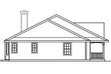 Architectural House Design - Farmhouse Exterior - Other Elevation Plan #124-369