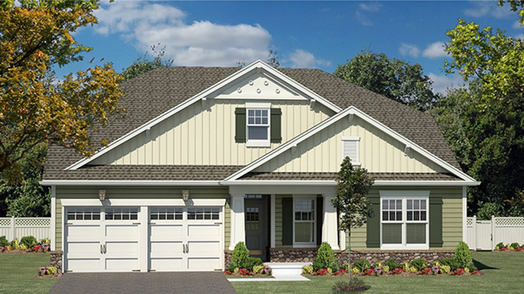 Craftsman style house plan 2 beds 2 5 baths 1986 sq ft for Weinmaster house plans