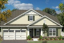 House Plan Design - Craftsman Exterior - Front Elevation Plan #316-281