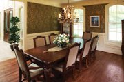 European Style House Plan - 5 Beds 4.5 Baths 5158 Sq/Ft Plan #929-479 Interior - Dining Room