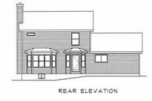 House Plan Design - Farmhouse Exterior - Rear Elevation Plan #22-202