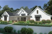 Farmhouse Style House Plan - 3 Beds 2.5 Baths 2393 Sq/Ft Plan #120-253 Exterior - Front Elevation