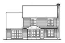 House Plan Design - Craftsman Exterior - Rear Elevation Plan #48-112