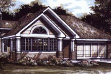 Dream House Plan - Bungalow Exterior - Front Elevation Plan #320-386