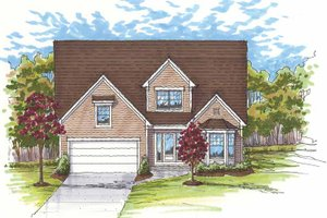 House Design - Traditional Exterior - Front Elevation Plan #435-9