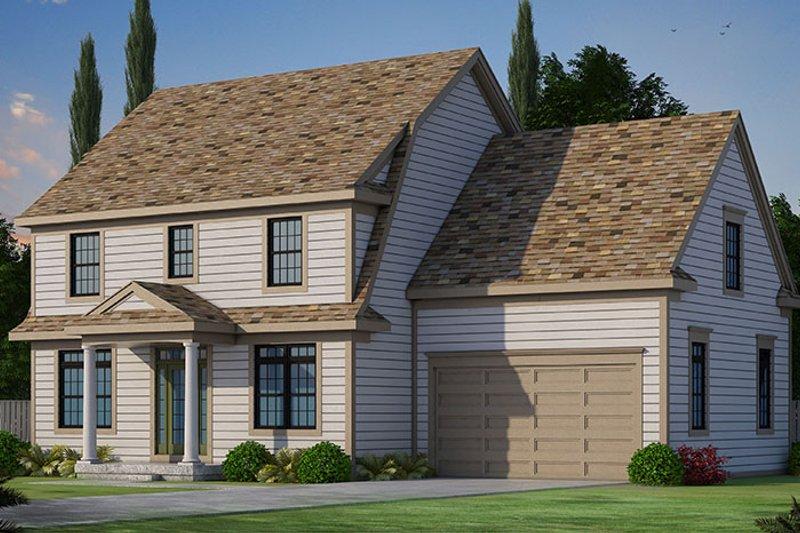 Colonial Exterior - Front Elevation Plan #20-2249 - Houseplans.com