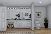 Craftsman Style House Plan - 3 Beds 2.5 Baths 7676 Sq/Ft Plan #1060-53 Interior - Master Bathroom