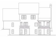Craftsman Exterior - Rear Elevation Plan #419-177