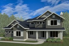 Dream House Plan - Traditional Exterior - Front Elevation Plan #920-80