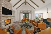 Farmhouse Style House Plan - 3 Beds 2.5 Baths 2460 Sq/Ft Plan #48-983 Interior - Family Room