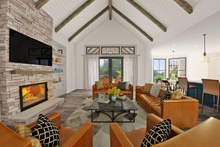 Home Plan - Farmhouse Interior - Family Room Plan #48-983