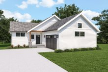 House Plan Design - Craftsman Exterior - Front Elevation Plan #1070-124